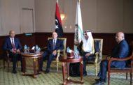 رئيس البرلمان العربي يبلغ رئيس مجلس النواب الليبي التضامن مع ليبيا ضد التدخلات الخارجية
