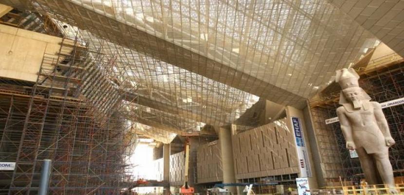 المتحف المصرى الكبير يتجاوز حاجز الـ 50 ألف قطعة أثرية