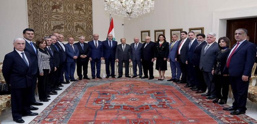 الرئيس اللبناني: المرحلة المقبلة ستشهد ما يرضي جميع المواطنين وتحقيق الإصلاح