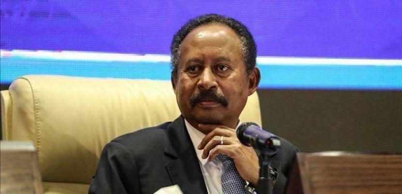 رئيس وزراء السودان يأمل أن تنعكس نتائج زيارته لواشنطن بالإيجاب على بلاده