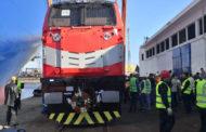 وصول أولى دفعات الجرارات الأمريكية لتحديث أسطول هيئة السكك الحديدية