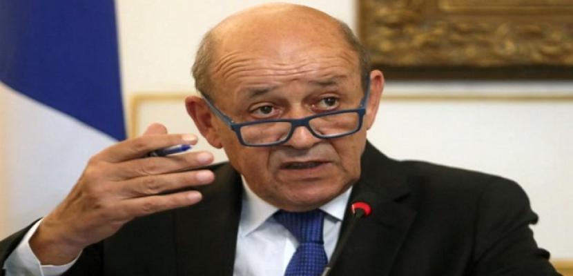 وزير الخارجية الفرنسي: لبنان منقسم وعلى أوروبا أن تكون مستعدة