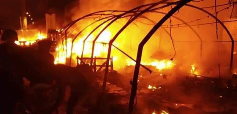 مقتل وإصابة 20 شخصاً فى هجوم مجهولين على خيام المتظاهرين بالناصرية