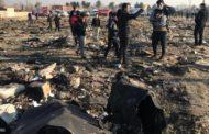 أوكرانيا وإيران تتفقان على إعادة كل حطام الطائرة المنكوبة إلى كييف