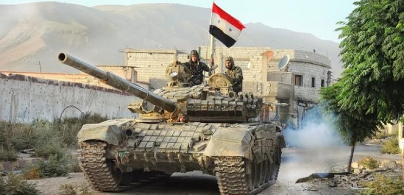 الجيش السورى يعلن تطهير بلدات بريف إدلب الجنوبي من التنظيمات الإرهابية