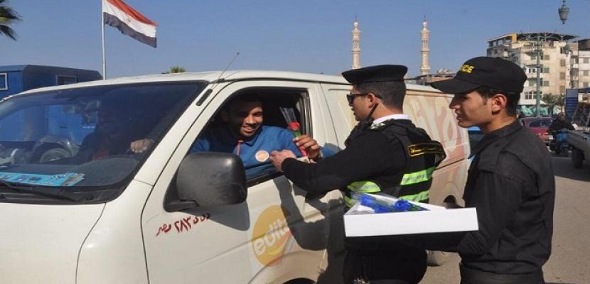 الشرطة والشعب يحتفلون بعيد الشرطة