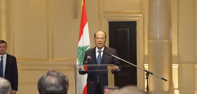 """الرئاسة اللبنانية: عون متمسك بـ """"حقوقه الدستورية"""" في تشكيل الحكومة الجديدة"""