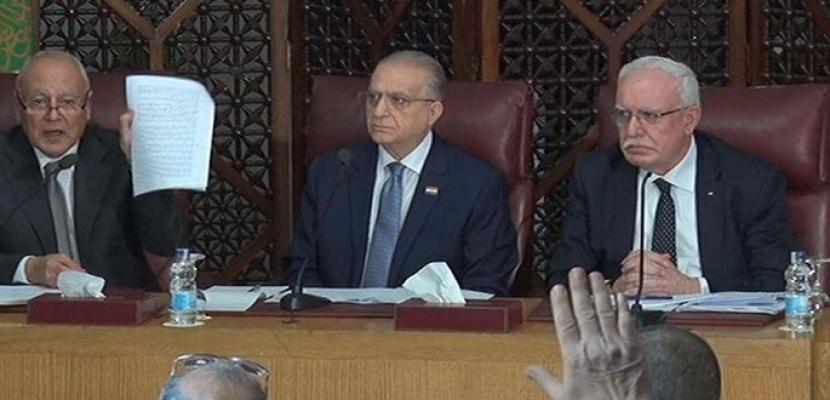 الجامعة العربية ترفض بالإجماع خطة السلام الأميركية