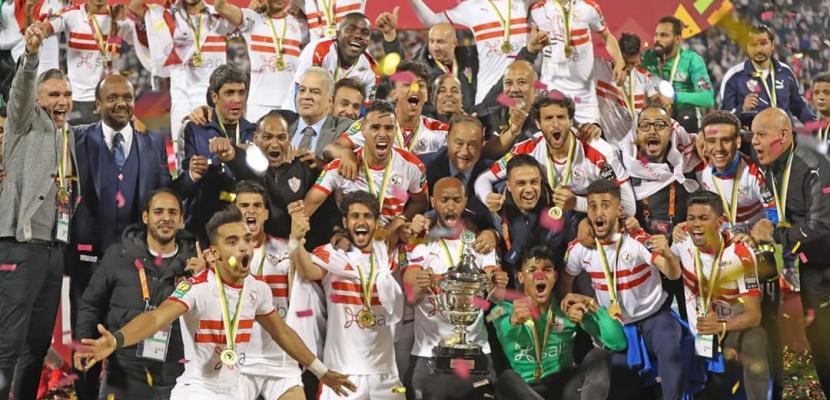 الزمالك بطلا للسوبر الإفريقي بفوز كبير على الترجي 3-1