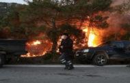 اشتباكات على جزيرة يونانية بين الشرطة ومحتجين على بناء مركز للمهاجرين