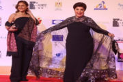 تكريم رجاء الجداوى و نيللى كريم فى مهرجان أسوان لأفلام المرأة