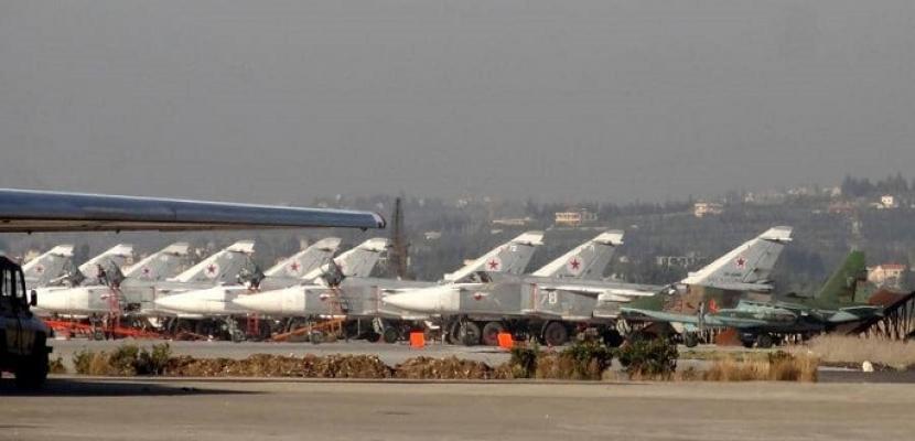 غارات روسية على محيط تجمع للقوات التركية في إدلب