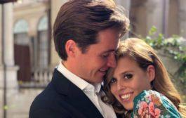 زفاف الأميرة البريطانية بياتريس في قصر سانت جيمس في مايو