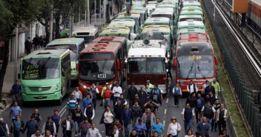 توقف حركة المرور والنقل في أثينا بسبب إضراب احتجاجا على إصلاحات نظام التقاعد