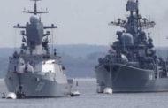 روسيا ترسل سفينتين مزودتين بصواريخ كروز إلى الساحل السوري