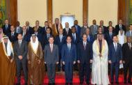 الرئيس السيسي يستقبل رؤساء أجهزة المخابرات المشاركين في المنتدى العربي الاستخباري