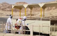 وزارة السياحة والآثار تبدأ أعمال التعقيم والتطهير للمناطق الأثرية بصعيد مصر