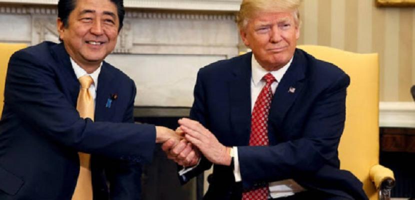 ترامب وآبي يتفقان على التعاون لتطوير لقاحات ضد كورونا