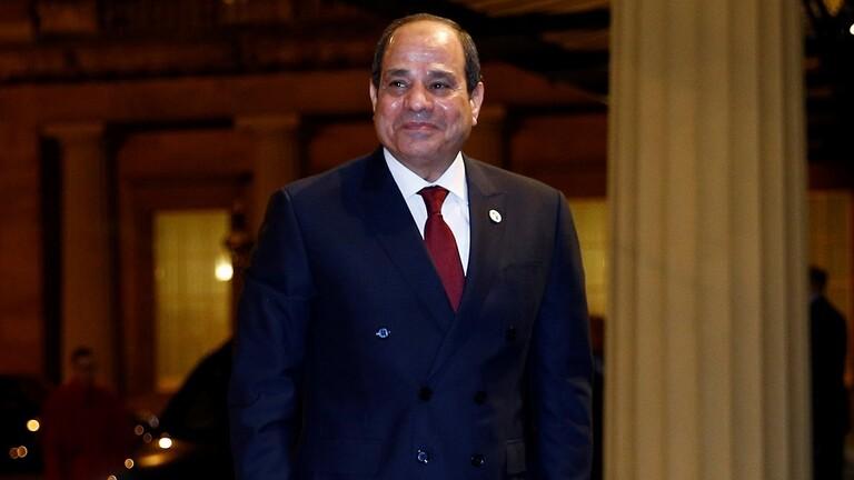 الرئيس السيسي يلتقي عقيلة صالح والمشير حفتر بقصر الاتحادية
