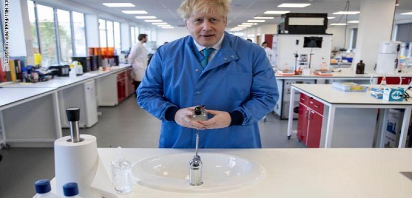اختبار الكشف الثاني عن كورونا لرئيس الوزراء البريطاني جاء سلبيًا