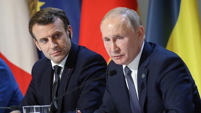 الكرملين: بوتين وماكرون يؤكدان أهمية التعاون الثنائي في مكافحة كورونا