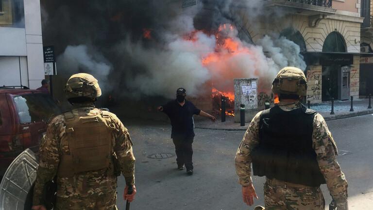 الجيش اللبناني يعلن حصيلة المصابين في صفوفه إثر تجدد الاحتجاجات ويدعو للحفاظ على السلم