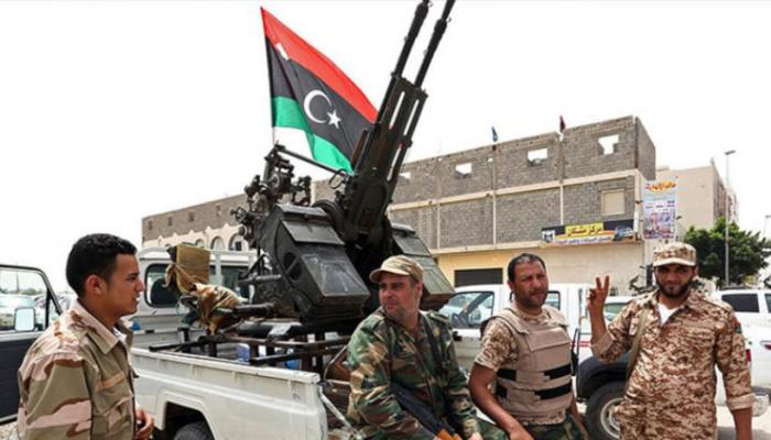 """إسقاط طائرة تركية قرب قاعدة """"الوطية"""" الليبية"""