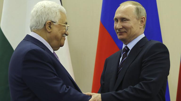عباس يتوجه بطلب لبوتين لتنظيم مؤتمر دولي في موسكو لبحث القضية الفلسطينية