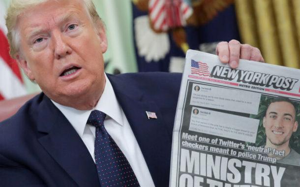 موقع «تويتر» يتحدى ترامب من جديد