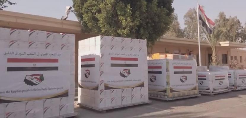 الرئيس السيسي يوجه بإرسال شحنة من المستلزمات الطبية والأدوية إلى السودان