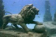 اكتشافات القرن الـ 20.. آثار الإسكندرية الغارقة استخراج 300 كتلة ضخمة من البحر