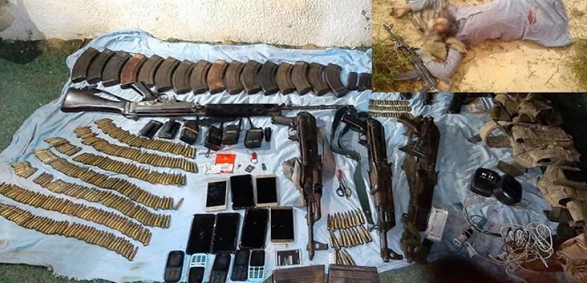 المتحدث العسكري: مقتل 7 تكفيريين في عملية نوعية في شمال سيناء