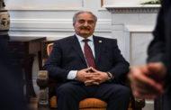 حفتر في القاهرة قبيل انطلاق الجولة الثالثة لمحادثات جنيف العسكرية