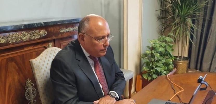 وزير الخارجية يجري اتصالات هاتفية مع نظرائه من كل من جنوب أفريقيا وتونس وكندا