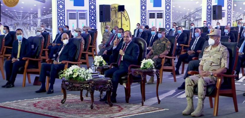 الرئيس السيسي: مصر تسلك مسارا تفاوضيا بشأن ملء وتشغيل سد النهضة وستنجح في التوصل لاتفاق يحقق مصالحها