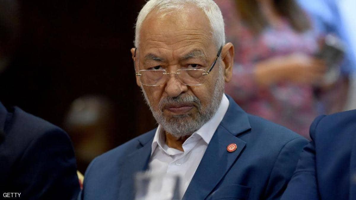 الغنوشي يطلب من وزير الداخلية فض اعتصام البرلمان «بالقوة»