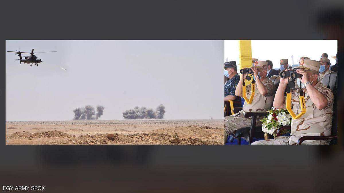 """المناورة """"حسم 2020"""".. وزير الدفاع المصري يوجه رسالة تحذير"""