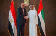 الإمارات تجدد دعم مصر لحل الأزمة الليبية سياسيا