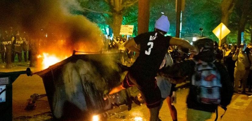 أمريكا تشن حملة على المحتجين فى بورتلاند بعد أمر ترامب بحماية النصب التذكارية
