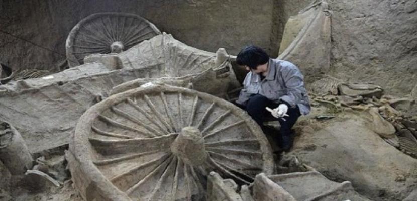 اكتشاف مجموعة قبور عمرها أكثر من 2200 سنة بالصين
