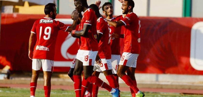 الأهلي يفوز على الجونة 5-2 وديا استعدادا لاستئناف الدوري الممتاز