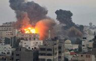 الاحتلال الاسرائيلي يقصف عدة مواقع في قطاع غزة