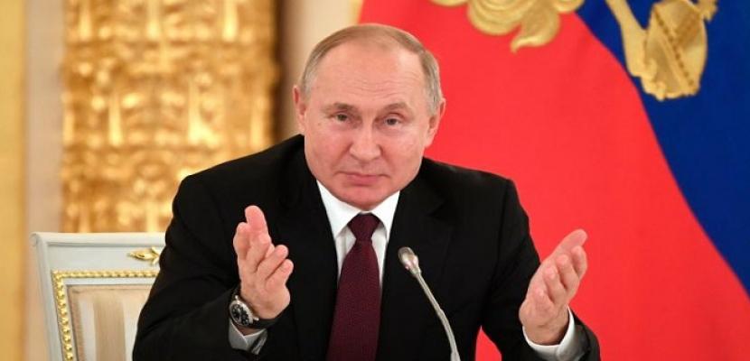 بوتين: روسيا تقر أول مصل لكوفيد-19
