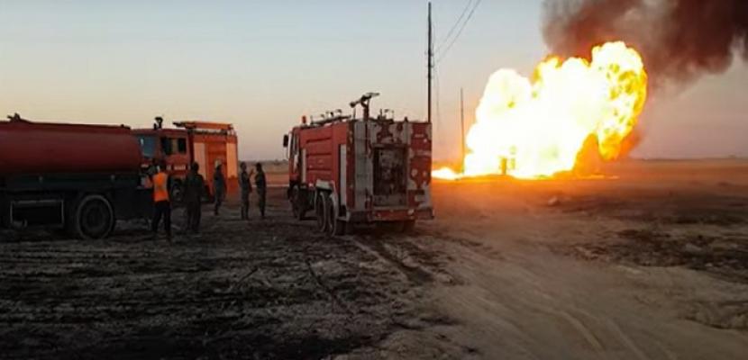 """انقطاع الكهرباء عن كامل سوريا جراء تفجير فى خط الغاز ..وأمريكا ترجح مسئولية """"داعش"""" عن التفجير"""