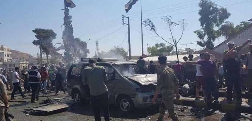 انفجار سيارة مفخخة في بلدة بريف الرقة الشمالي بسوريا