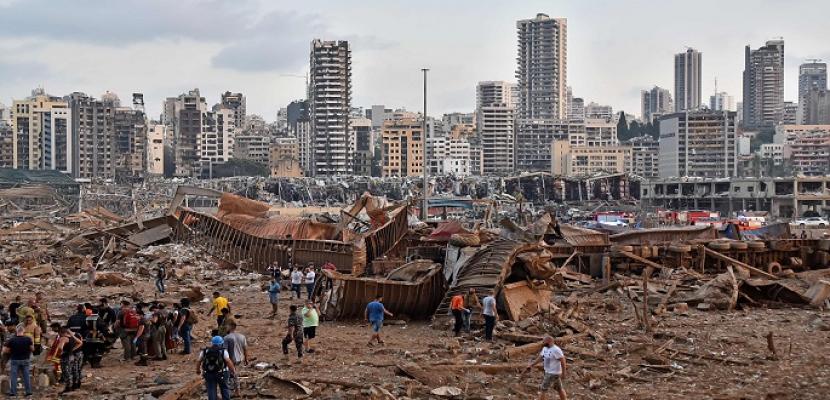 """قاضي التحقيق في انفجار ميناء بيروت يتسلم تقرير الـ """"إف بي آي"""""""