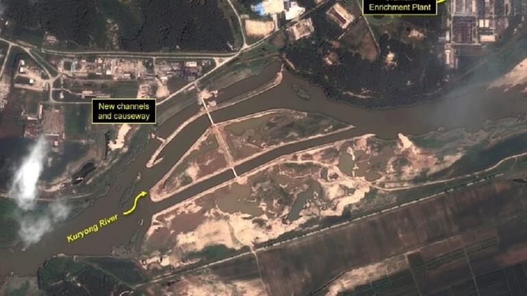 مركز أبحاث أمريكي: السيول تهدد موقع مفاعل نووي بكوريا الشمالية