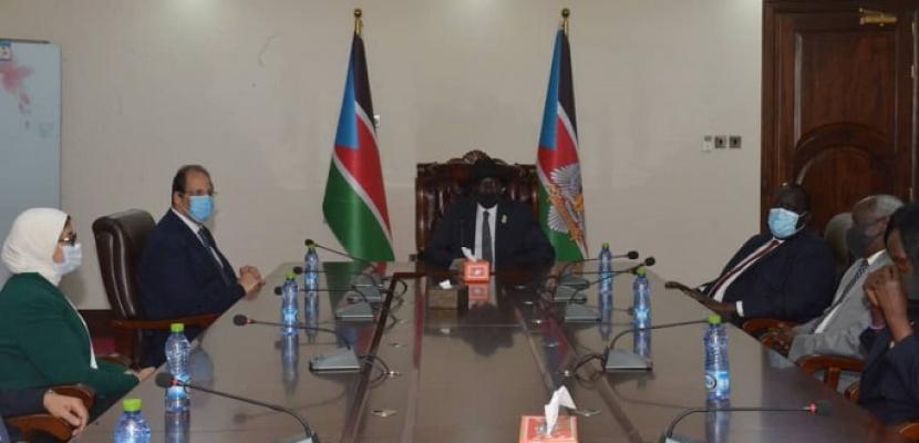 السيسي يوجه رسالة إلى رئيس جنوب السودان: علاقتنا قوية ومتينة