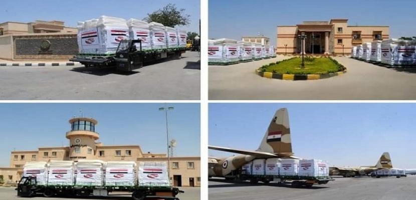بتوجيهات رئاسية .. مصر تواصل تكثيف الجسر الجوى لإرسال المساعدات العاجلة للبنان