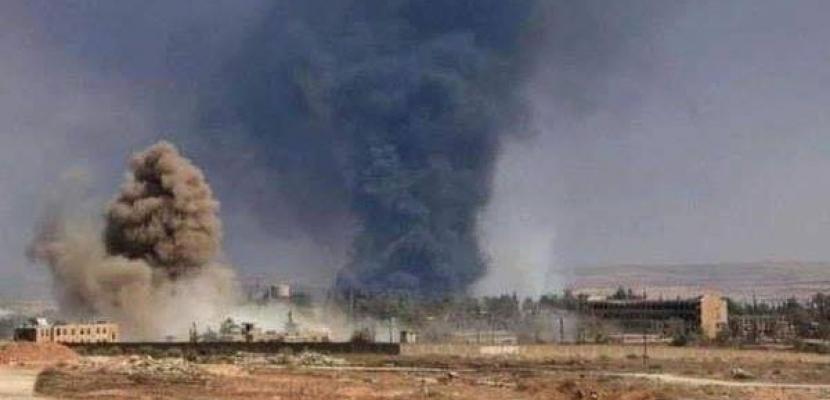 مقتل وإصابة ثلاثة جنود سوريين في ضربة جوية للتحالف الدولي بريف الحسكة